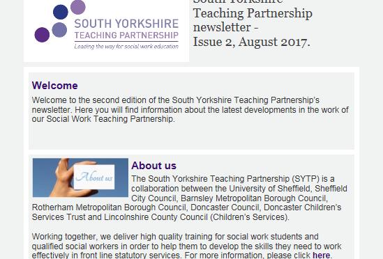 SYTP Newsletter