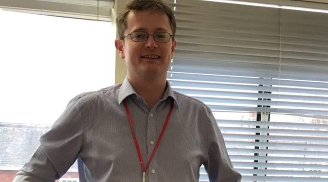 Chris Erskine, Associate Lead Professional for Lincolnshire County Council Adult Care